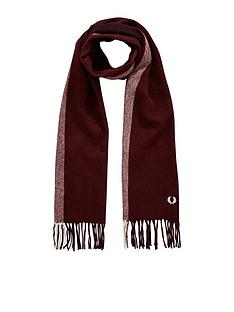 fred-perry-tipped-woven-scarf