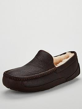 Ugg Ugg Ascot Leather Slipper - China Tea Picture