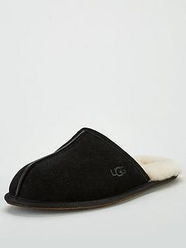 ugg-scuff-suede-slipper-black