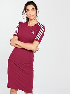 adidas-originals-3-stripes-dress-ruby