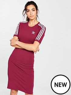 adidas-originals-3-stripes-dress-rubynbsp