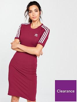 b64d1ccedf adidas Originals 3 Stripes Dress - Ruby