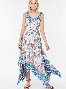 monsoon-ismay-print-hanky-hem-dress