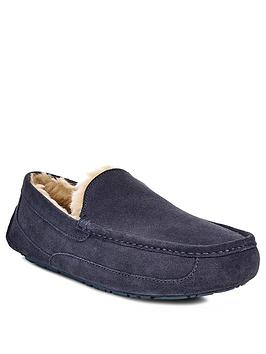 Ugg Ugg Ascot Suede Slipper - Navy Picture