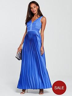 little-mistress-plunge-v-neck-satin-maxi-dress-azure-blue