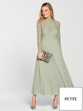 little-mistress-little-mistress-petite-lace-long-sleeve-mini-dress