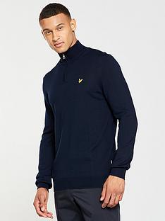 lyle-scott-fitness-lyle-amp-scott-golf-sands-14-zip-pullover