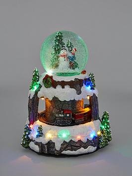 christmas-snowglobe-and-moving-train-scene