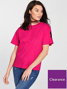 v-by-very-tab-sleeve-t-shirt-pink