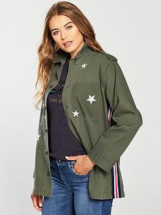 replay-replay-star-embroidery-tape-detail-shacket