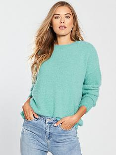 v-by-very-fluffy-curved-hem-jumper-dusted-mintnbsp