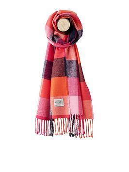 joules-bracken-scarf-pink