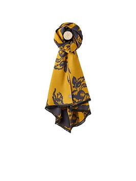 joules-jacquelyn-scarf-mustard