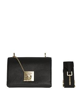 calvin-klein-ck-lock-black-crossbody-bag