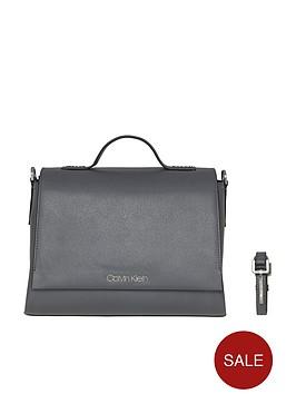 calvin-klein-calvin-klien-grey-frame-top-handle-satchel-bag