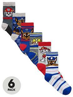 paw-patrol-6-pack-boys-socks