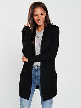 v-by-very-slouch-pocket-cardigan-black