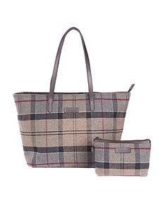 barbour-witford-tartan-tote-bag