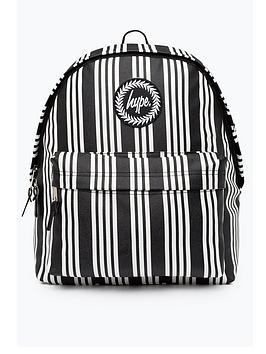 hype-vinyl-stripe-backpack