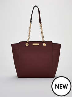 carvela-rate-chain-handle-tote-bag-wine