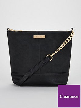 02c0e735b0cd Carvela Rich Suedette Cross Body Bag - Black