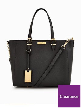 carvela-dina-black-tote-bag