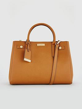 carvela-bonnie-tan-structured-tote-bag