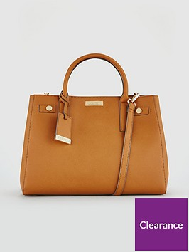 carvela-bonnie-tan-structured-tote-bag