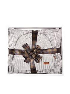 barbour-cable-hat-amp-scarf-set-white