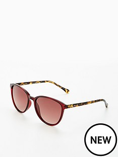 ted-baker-tierney-bergundy-sunglasses