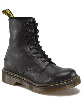 f6cbae591a 1460 8 Eyelet Boots - Black