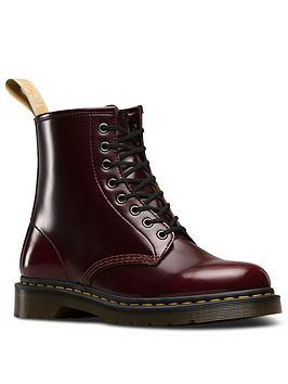 Dr Martens Dr Martens Vegan 1460 8 Eye Ankle Boots - Cherry Picture