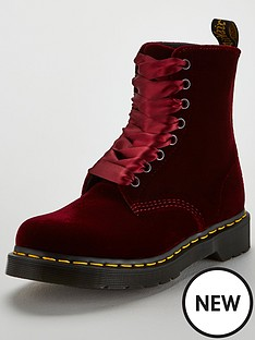 dr-martens-pascal-velvet-8-eyelet-ankle-boot-cherry-red