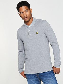 lyle-scott-ls-plain-polo-shirt