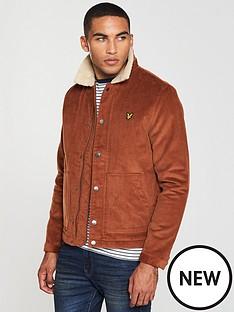 lyle-scott-jumbo-cord-shearling-jacket