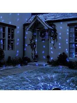 Festive Festive Led Snowfall Projector Outdoor Christmas Light Picture