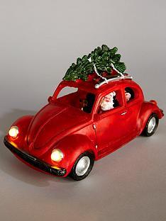 santas-car-and-tree-lit-christmas-decoration