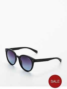 polaroid-round-sunglasses-black