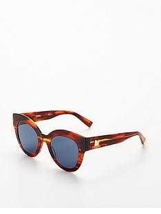 max-mara-oval-lens-sunglasses-bluetort