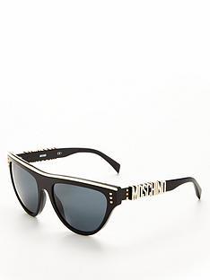 moschino-logo-arm-sunglasses-black