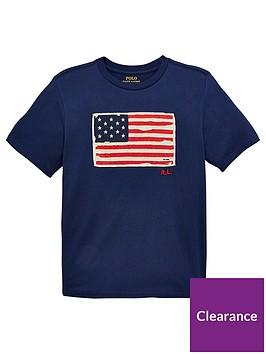 ralph-lauren-boys-short-sleeve-flag-printed-t-shirt--navy