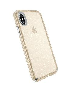 speck-presidio-clear-iphone-x-clear-with-gold-glitter