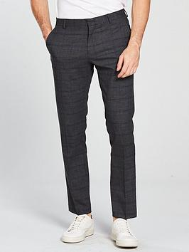 selected-homme-check-suit-trouser