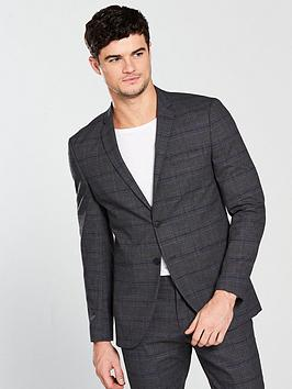 selected-homme-check-suit-blazer