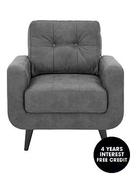 skandi-faux-leather-armchair