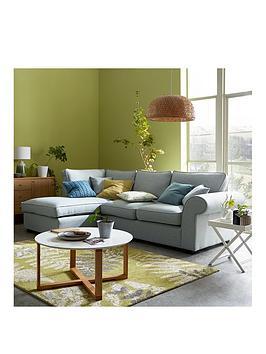 Very Victoria Fabric Left Hand Corner Chaise Sofa Picture