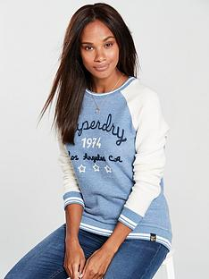 superdry-aria-reversed-crew-neck-top-whiteblue