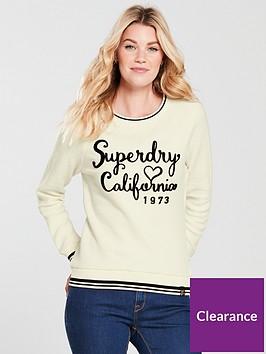 superdry-aria-reversed-crew-neck-top-ivory