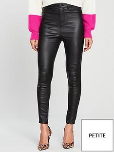 v-by-very-short-addison-coated-super-high-waisted-super-skinny-jean-black-coated