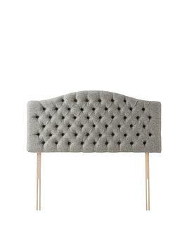 Rest Assured Rest Assured Richmond Luxury Fabric Headboard Picture